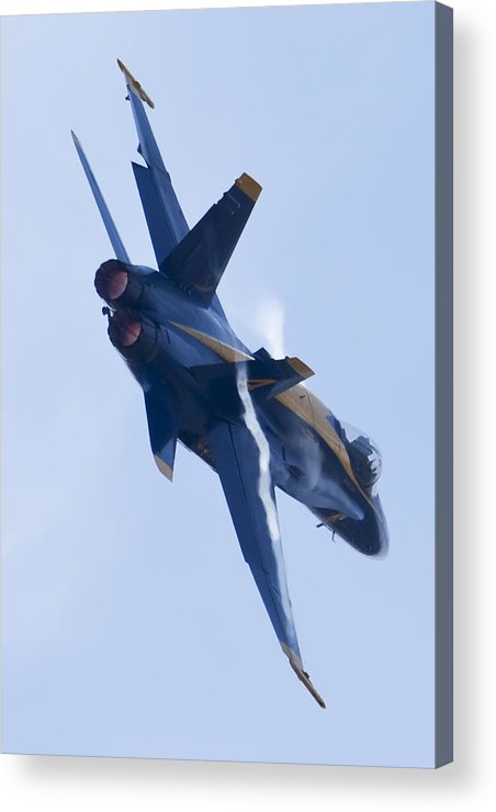 Us Navy Acrylic Print featuring the photograph Us Navy Blue Angels Poster by Dustin K Ryan