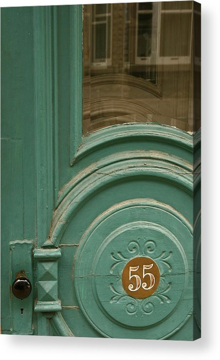 Door Acrylic Print featuring the photograph 55 by Art Ferrier