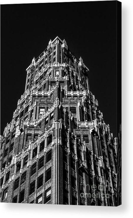 Symmetry Acrylic Print featuring the photograph 66 Court Street In Brooklyn Ny by Edi Chen