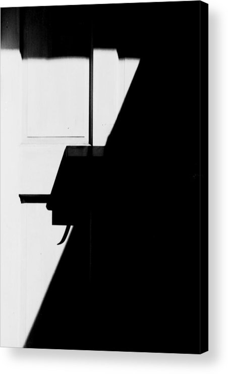 Number Acrylic Print featuring the photograph 7 by Steven Huszar