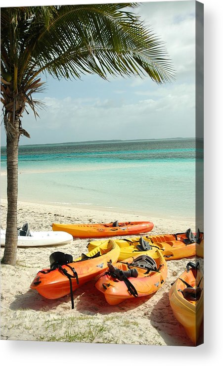 Beach Acrylic Print featuring the photograph A Day After Play by Lori Mellen-Pagliaro