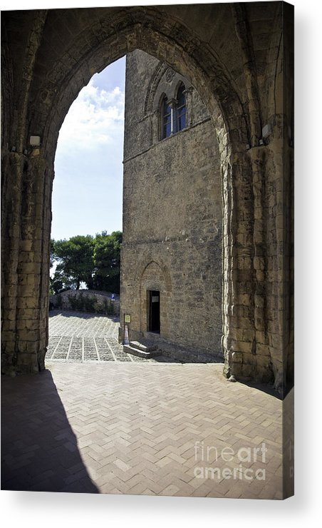 Arch Acrylic Print featuring the photograph A Gothic View II by Madeline Ellis