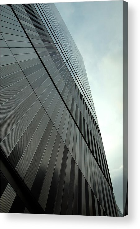 Seven World Trade Acrylic Print featuring the photograph A New Perspective by Mandy Wiltse