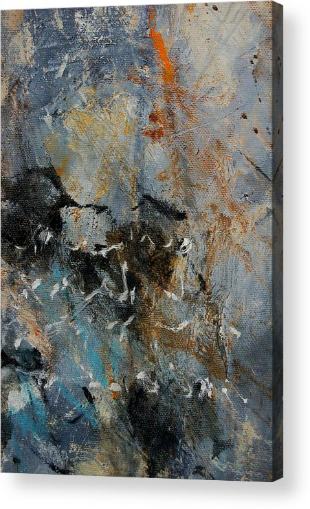 Abstract Acrylic Print featuring the painting Abstract 4526987 by Pol Ledent