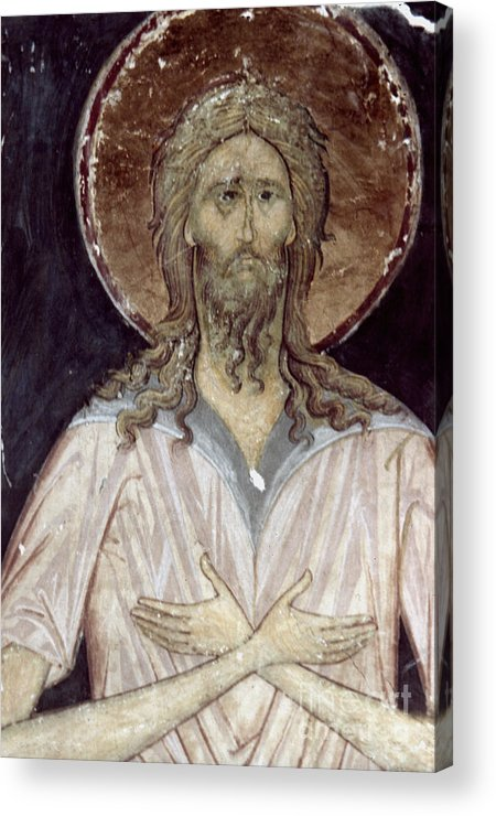 15th Century Acrylic Print featuring the photograph Alexis The Gods Man by Granger