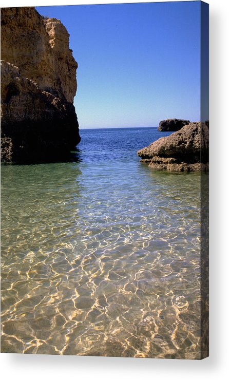 Algarve Acrylic Print featuring the photograph Algarve I by Flavia Westerwelle