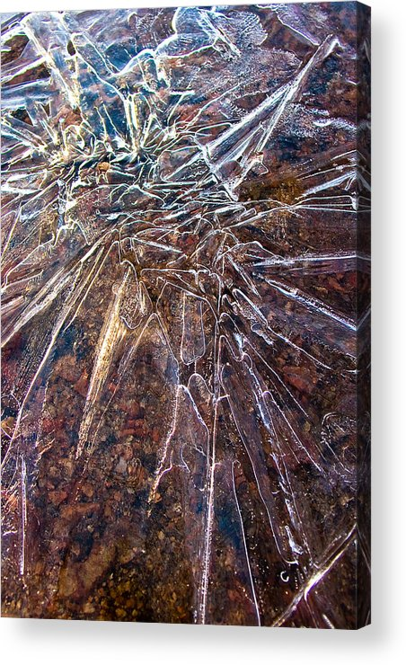 Ice Acrylic Print featuring the photograph Amazement by Marian Kraus