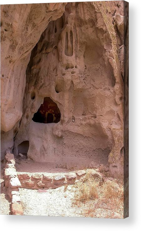 Cliff Dwelling Acrylic Print featuring the photograph Ancestral Ruin by NaturesPix