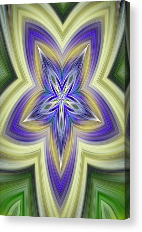 Abstract Acrylic Print featuring the photograph Annual Renewal Of Nature by Linda Phelps