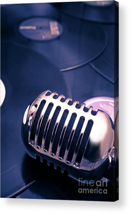 Broadcast Acrylic Print featuring the photograph Art Of Classic Communication by Jorgo Photography - Wall Art Gallery