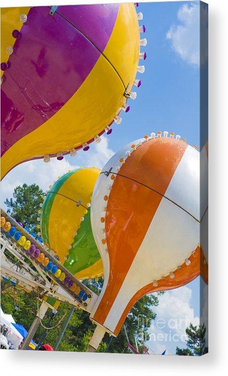 Balloons Acrylic Print featuring the photograph Balloon Fun by Maureen Norcross