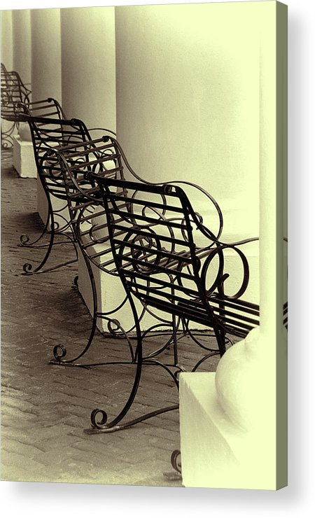 Chairs Acrylic Print featuring the photograph Be Seated by Mitch Spence