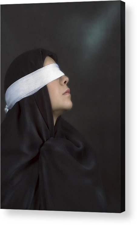 Acrylic Print featuring the photograph Belief by Zygmunt Kozimor