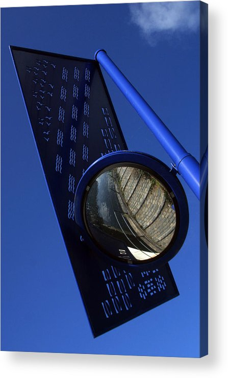 Jez C Self Acrylic Print featuring the photograph Blue For The Day by Jez C Self