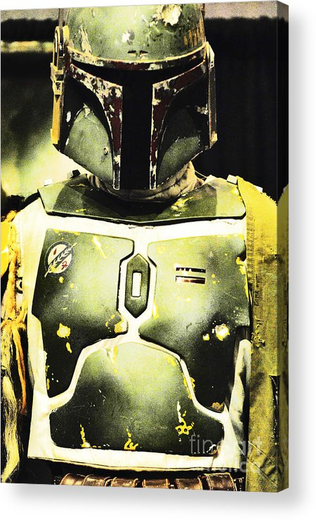 Boba Fett Acrylic Print featuring the photograph Boba Fett by Micah May