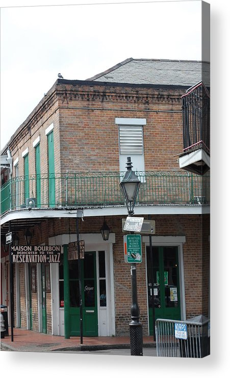 Building Acrylic Print featuring the photograph Bourbon Street by Michelle Williams