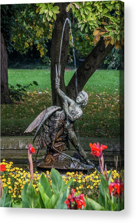 Europe Acrylic Print featuring the photograph Boy And Bird by Fabio Gomes Freitas