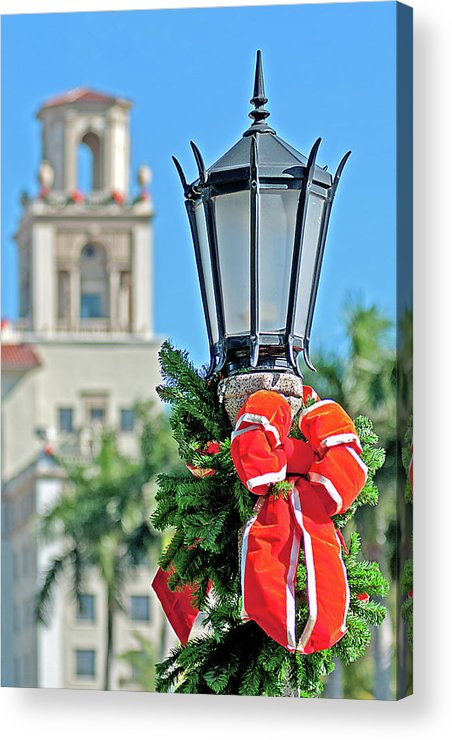 Breakers Acrylic Print featuring the photograph Breakers At Christmas by Jim Cole
