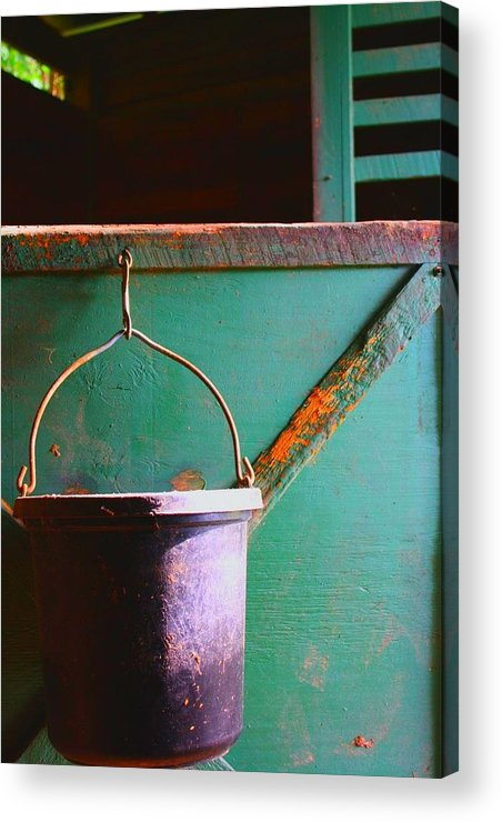 Barn Acrylic Print featuring the photograph Breakfast by Jill Tennison