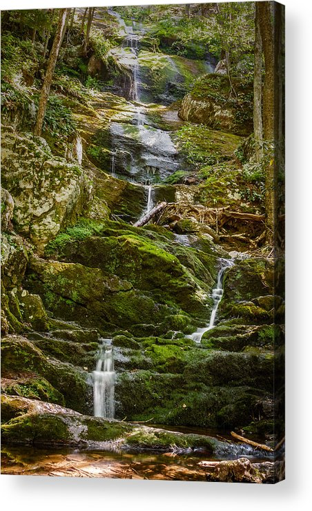 Falls Acrylic Print featuring the photograph Buttermilk Falls by Saurav Pandey