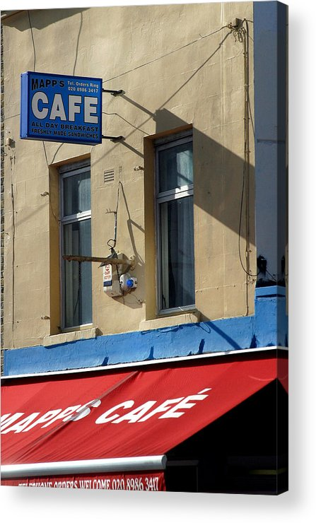 Jez C Self Acrylic Print featuring the photograph Cafe Old Ford by Jez C Self