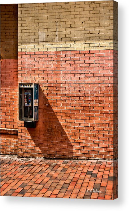 Phone Acrylic Print featuring the photograph Call Me by Christopher Holmes