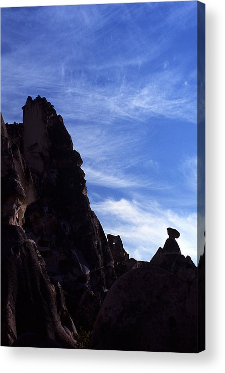 Cappadoccia Acrylic Print featuring the photograph Cappadoccia by Marcus Best