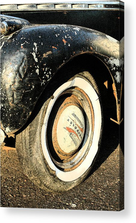 Car Acrylic Print featuring the photograph Car Alfresco II by Kathy Schumann