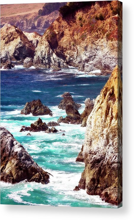 Photo Acrylic Print featuring the photograph Carmel Highlands 8 by Alan Hausenflock