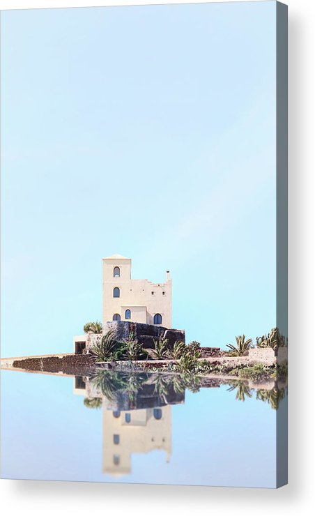 Castle Acrylic Print featuring the photograph Castle Reflection by Joana Kruse