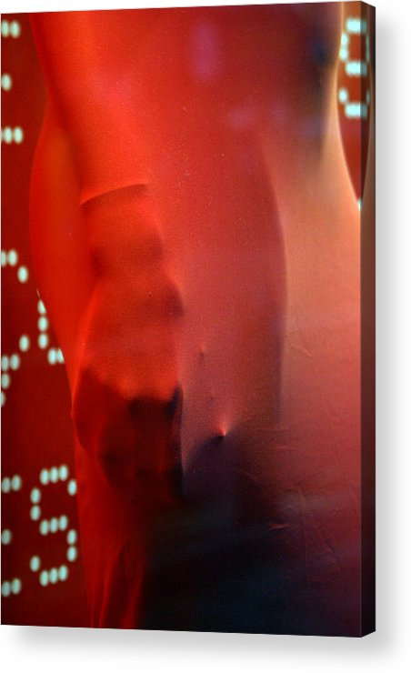 Jez C Self Acrylic Print featuring the photograph Caught Red Handed by Jez C Self