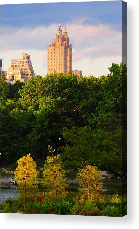 Central Park Acrylic Print featuring the photograph Central Park 7503 by PhotohogDesigns