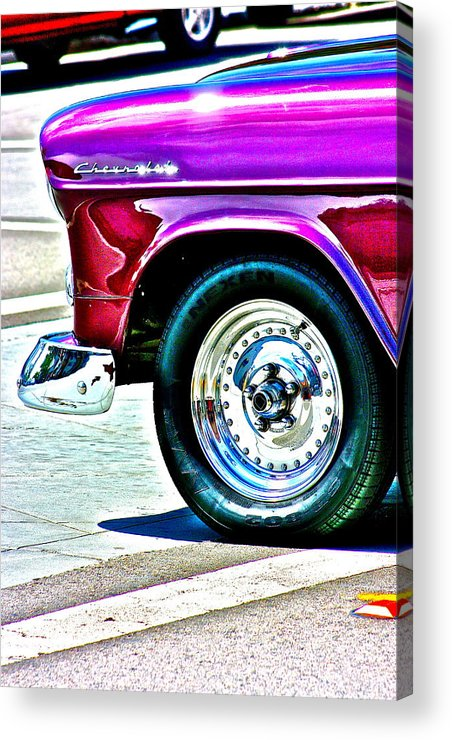 Chevy Acrylic Print featuring the photograph Chevy by Jeremy Stewart