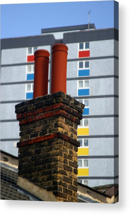 Jez C Self Acrylic Print featuring the photograph Chimney High by Jez C Self