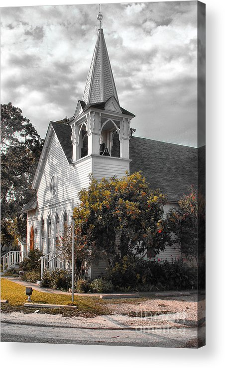 Acrylic Print featuring the photograph Church by David Carter