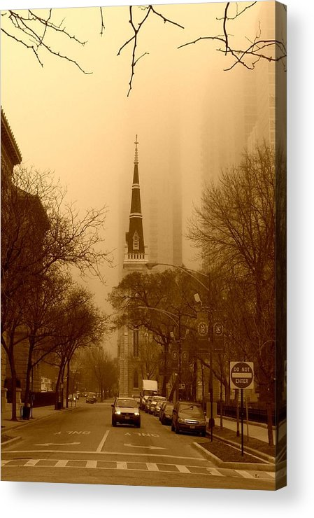 Church Acrylic Print featuring the photograph Church by Ryan Mathes