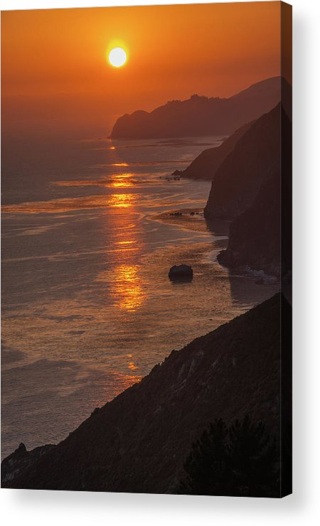 Big Sur Acrylic Print featuring the photograph Closing Moment by TM Schultze