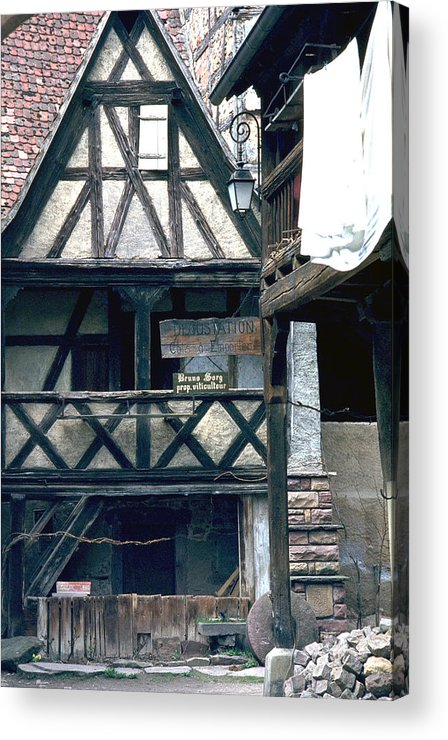 Colmar Acrylic Print featuring the photograph Colmar by Flavia Westerwelle