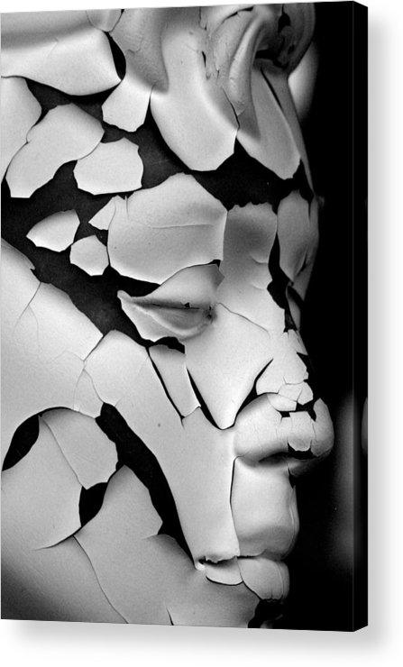 Jez C Self Acrylic Print featuring the photograph Cracked Up by Jez C Self