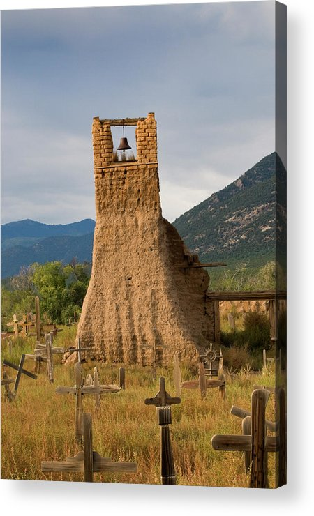 Southwest Acrylic Print featuring the photograph Cross Roads by Jim Benest