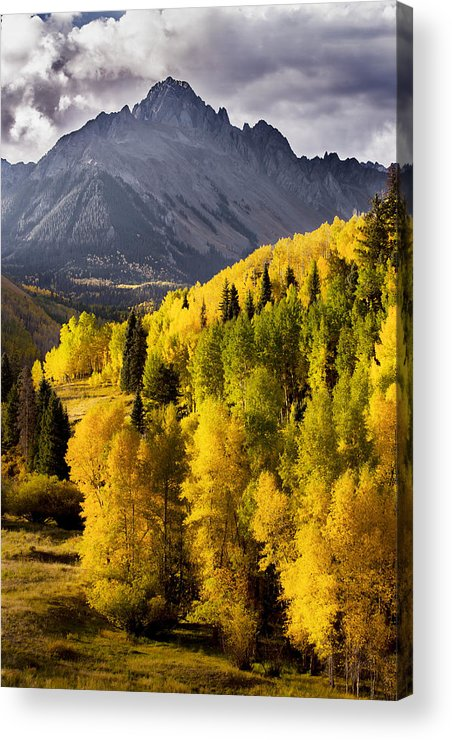 Colorado Acrylic Print featuring the photograph Dallas Divide by Jonathan Steele