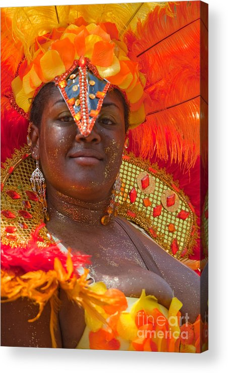 Festival Acrylic Print featuring the photograph Dc Caribbean Carnival No 24 by Irene Abdou