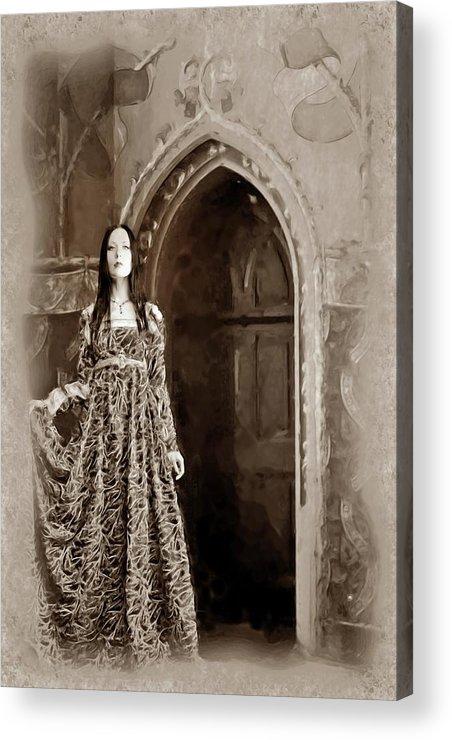 Fantasy Acrylic Print featuring the digital art Diaphenia by Mary Morawska