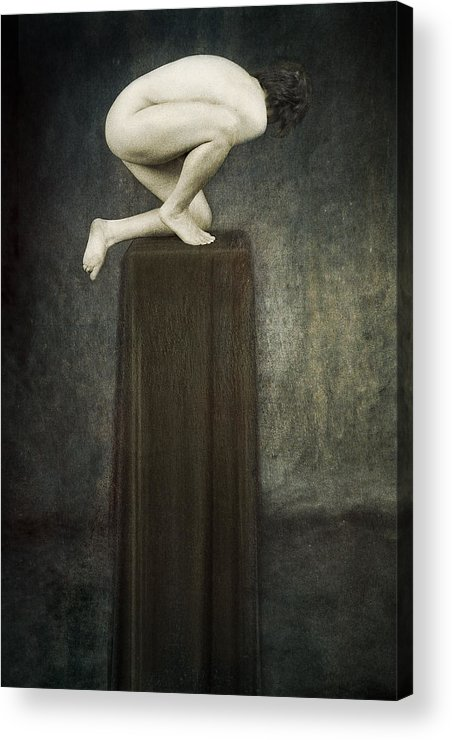 Acrylic Print featuring the photograph Discobolus by Zygmunt Kozimor