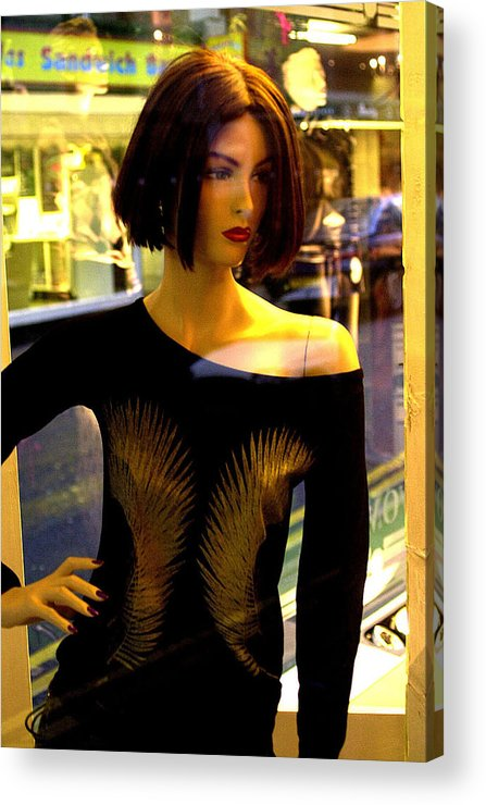 Jez C Self Acrylic Print featuring the photograph Dont Want To by Jez C Self