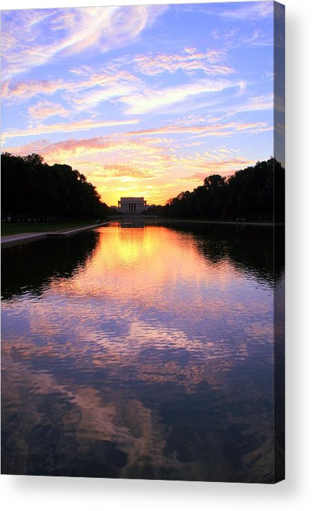 Washington D.c. Acrylic Print featuring the photograph Dream by Mitch Cat