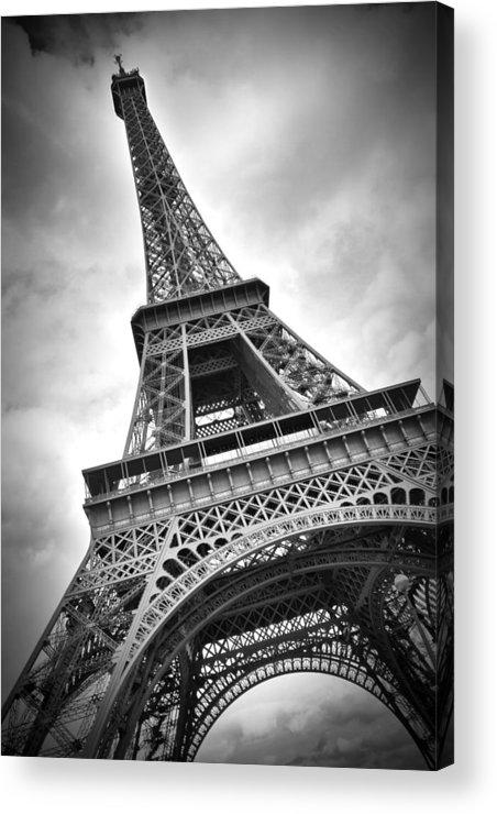 Europe Acrylic Print featuring the photograph Eiffel Tower Dynamic by Melanie Viola