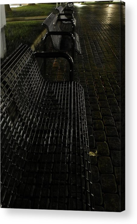 Night Acrylic Print featuring the photograph Empty by Carl Perry