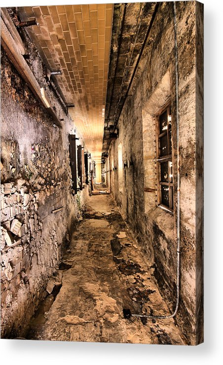 Philadelphia Acrylic Print featuring the photograph Endless Decay by Andrew Paranavitana