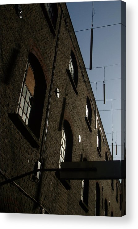 Jez C Self Acrylic Print featuring the photograph Falling Light 3 by Jez C Self